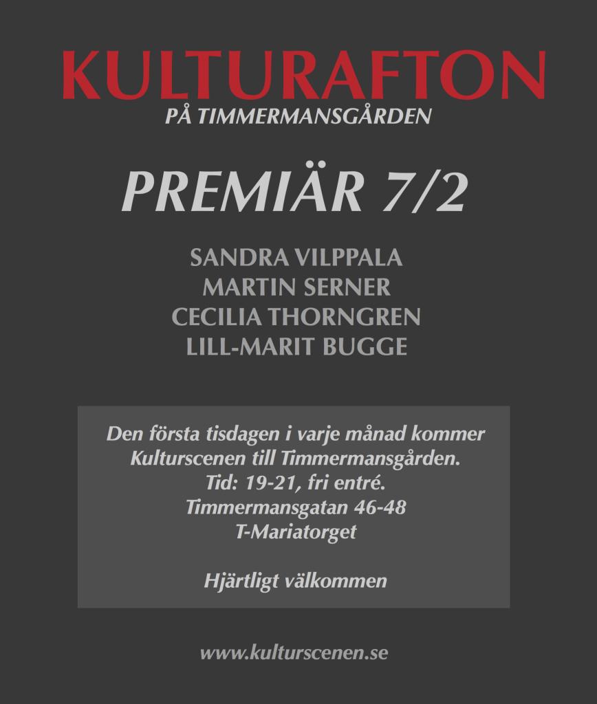 KULTURAFTONaffisch1